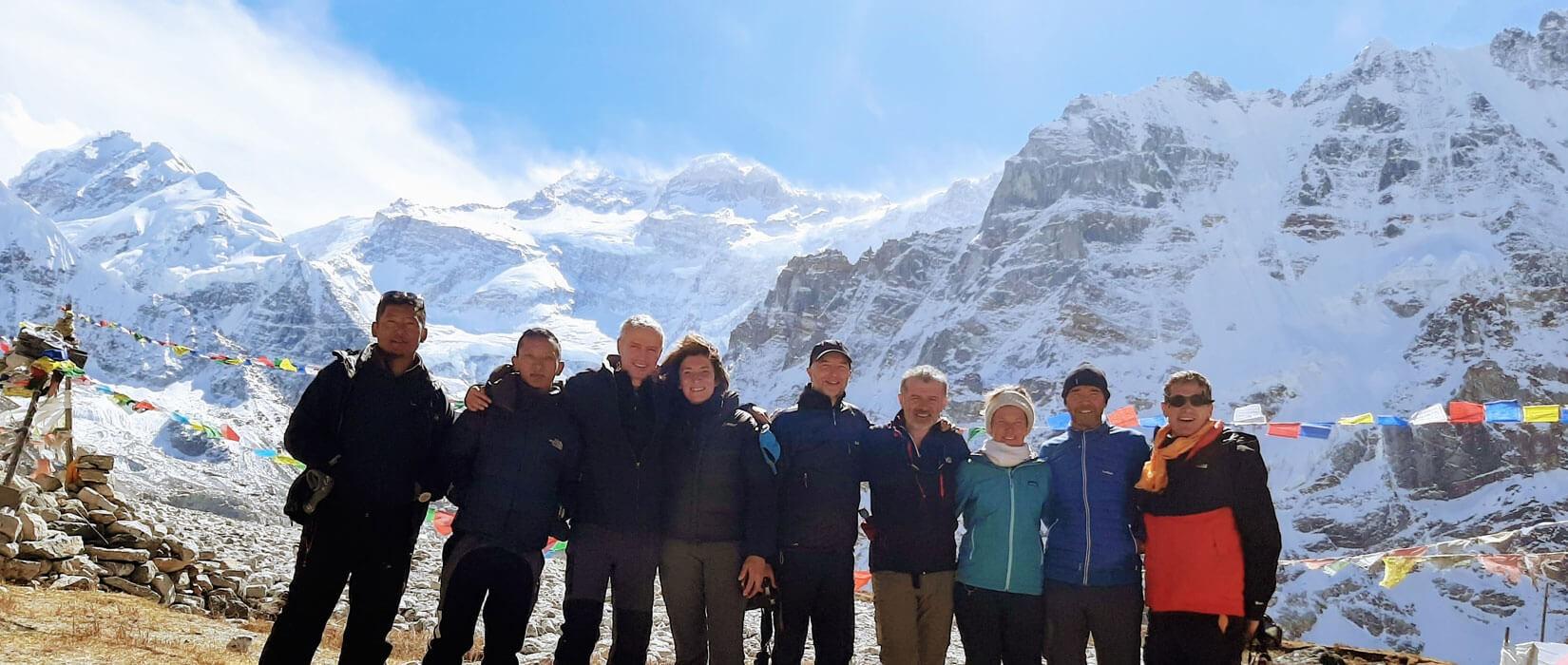 Kanchenjunga North Base Camp(5140 M)