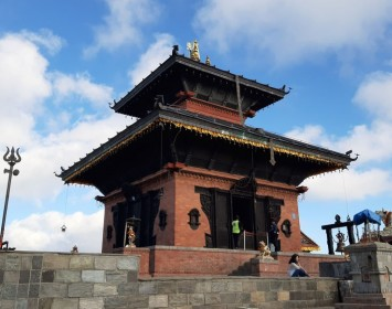 Day hike to Chandragiri
