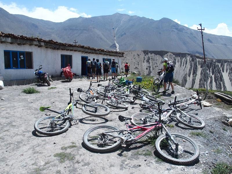 Upper Mustang Mountain Biking Tour