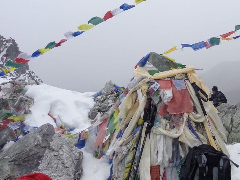 Cho La Pass (5420 M)