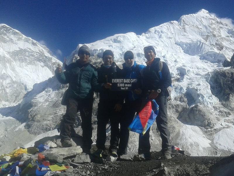 Everest Base Camp (5380 M)