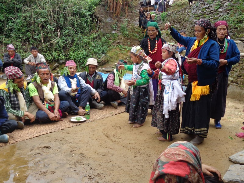 Ghatu Nach- A traditional dance of the Gurung communities performed during various occasions