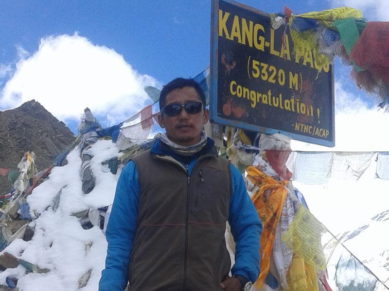 Kang La Pass (5320 M)