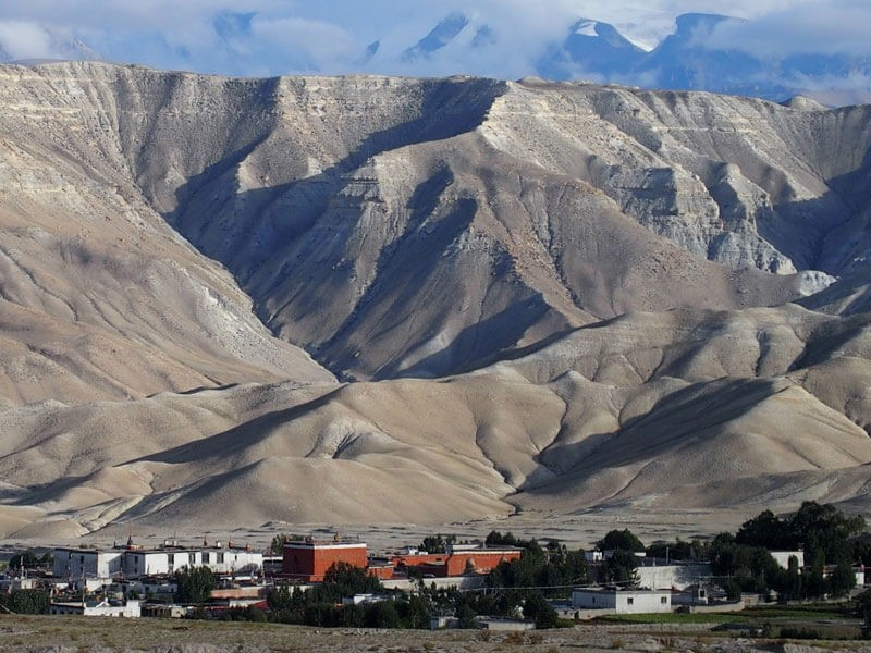 Lo Manthang(3809 M) - The capital of the last forbidden kingdom(Upper Mustang)