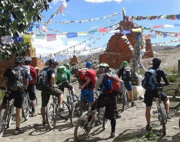 Upper Mustang Mountain Biking Tour